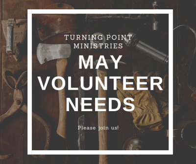 May Volunteer Days!